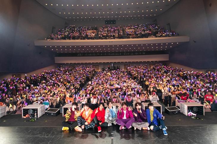 「M!LK SPRING TOUR 2019 Treasure Treasure」東京・昭和女子大学人見記念講堂公演の様子。