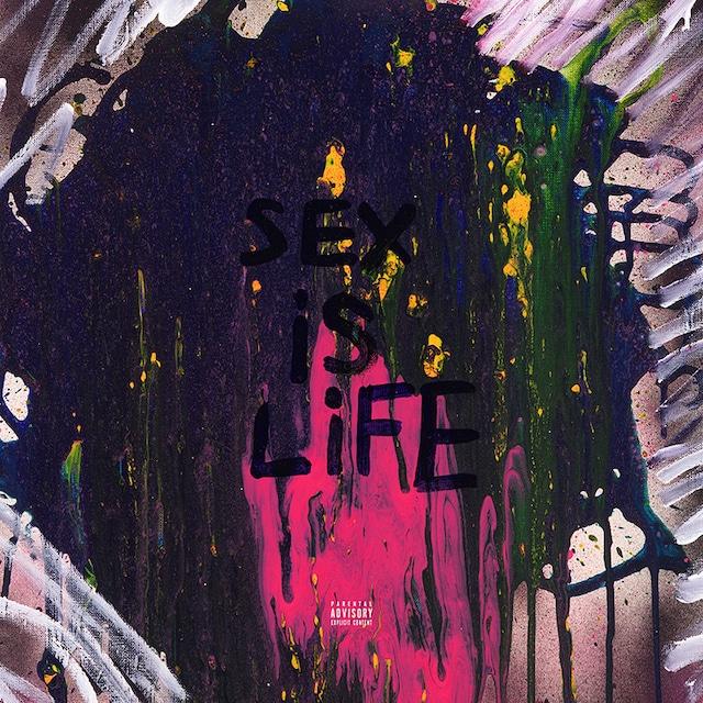 YOSHI「SEX IS LIFE」配信ジャケット