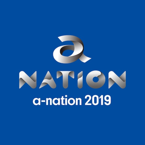 「a-nation 2019」ロゴ