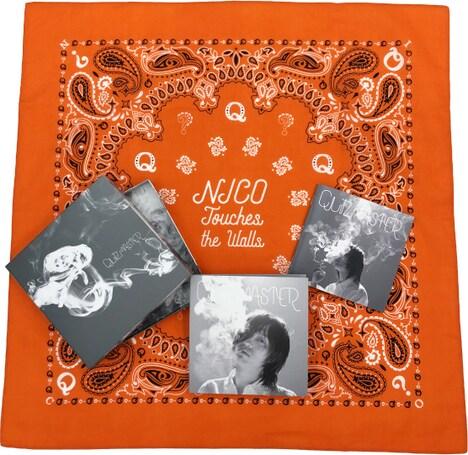 NICO Touches the Walls「QUIZMASTER」完全生産限定盤特典内容
