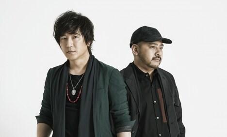 SURFACE。左から椎名慶治(Vo)、永谷喬夫(G)。