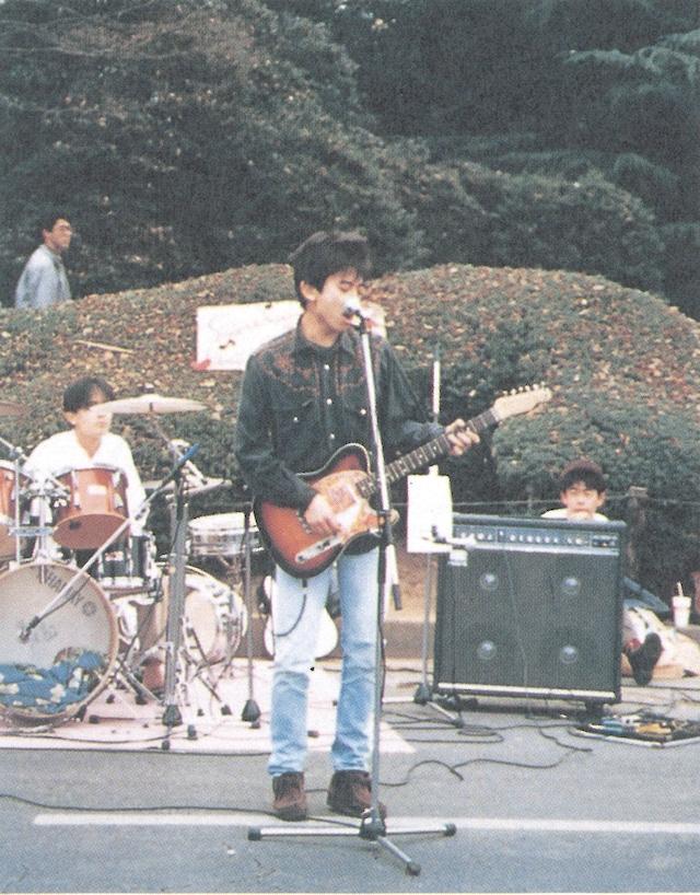 大学生の頃のYO-KING。
