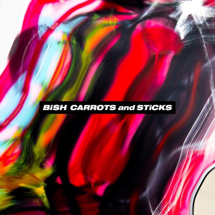 BiSH「CARROTS and STiCKS」ジャケット