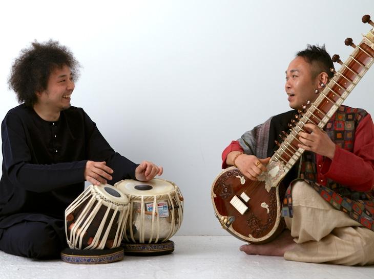 左からU-zhaan、石濱匡雄。