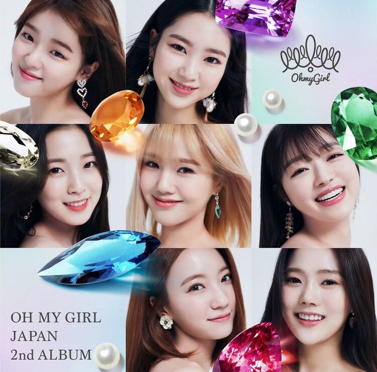 OH MY GIRL「OH MY GIRL JAPAN 2nd ALBUM」初回限定盤Aジャケット