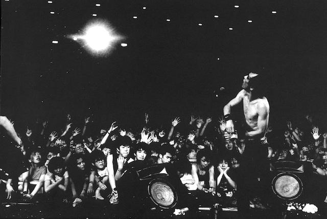ザ・スターリンのライブの様子。(写真提供:遠藤ミチロウオフィス)