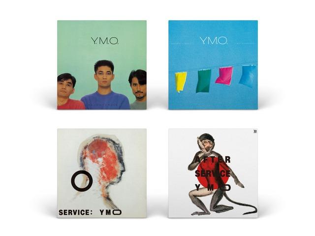 「YMO40」発売アルバムジャケット