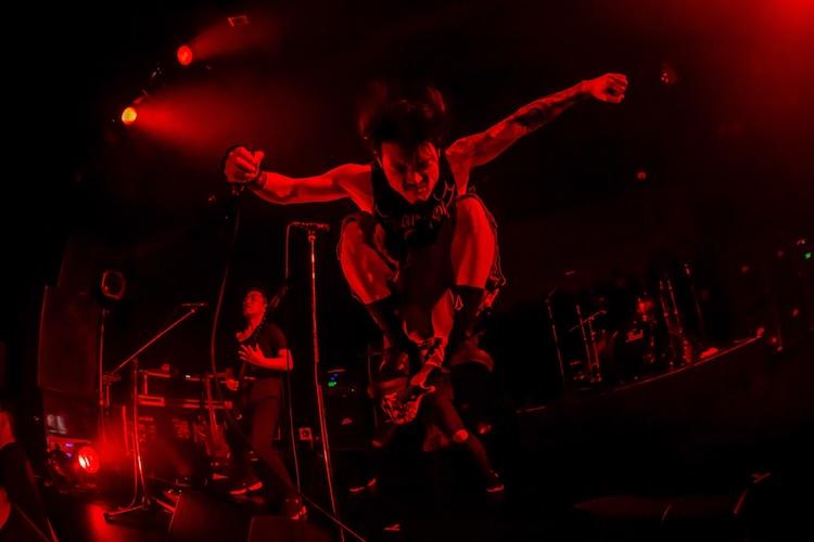 Ryo(Vo)(Photo by TAKASHI KONUMA)