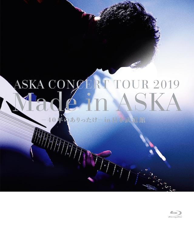 ASKA「ASKA CONCERT TOUR 2019 Made in ASKA -40年のありったけ- in 日本武道館」Blu-rayジャケット