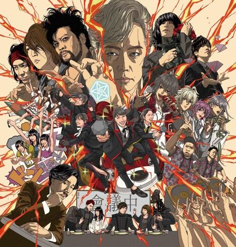 "「EVIL LINE RECORDS 5th Anniversary FES.""EVIL A LIVE"" 2019」キービジュアル"