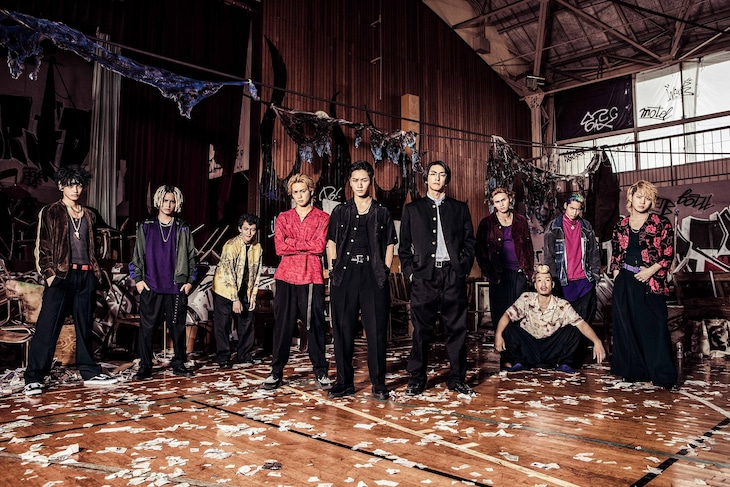 「HiGH&LOW THE WORST EPISODE.O」ビジュアル