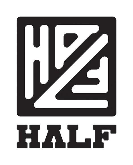 下北沢HALF ロゴ