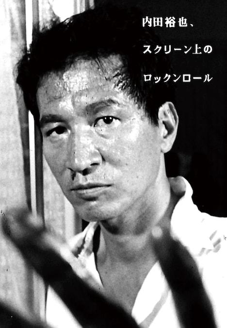 「内田裕也、スクリーン上のロックンロール」表紙(帯なし)