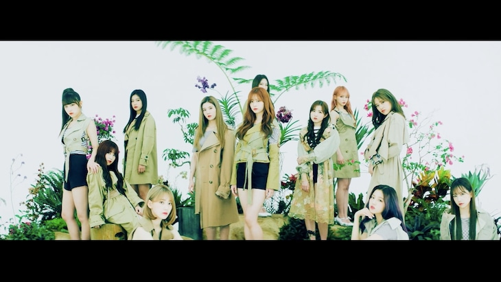 IZ*ONE「Buenos Aires」ミュージックビデオのワンシーン。(c)OFF THE RECORD