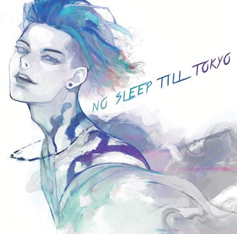 MIYAVI「NO SLEEP TILL TOKYO」通常盤ジャケット