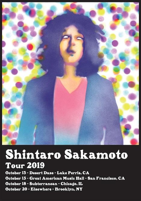 坂本慎太郎「Shintaro Sakamoto US Tour 2019」フライヤー