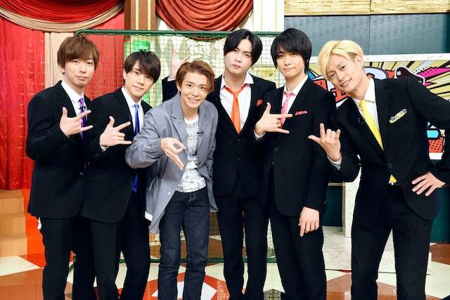 A.B.C-Zと岸優太(King & Prince)。(c)テレビ東京