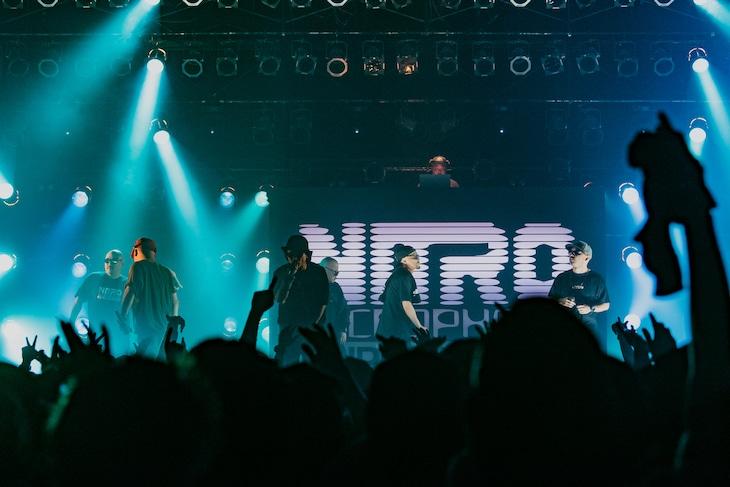 NITRO MICROPHONE UNDERGROUND「LIVE19」の様子。(Photo by cherry chill will. / Yuji Kaneko)