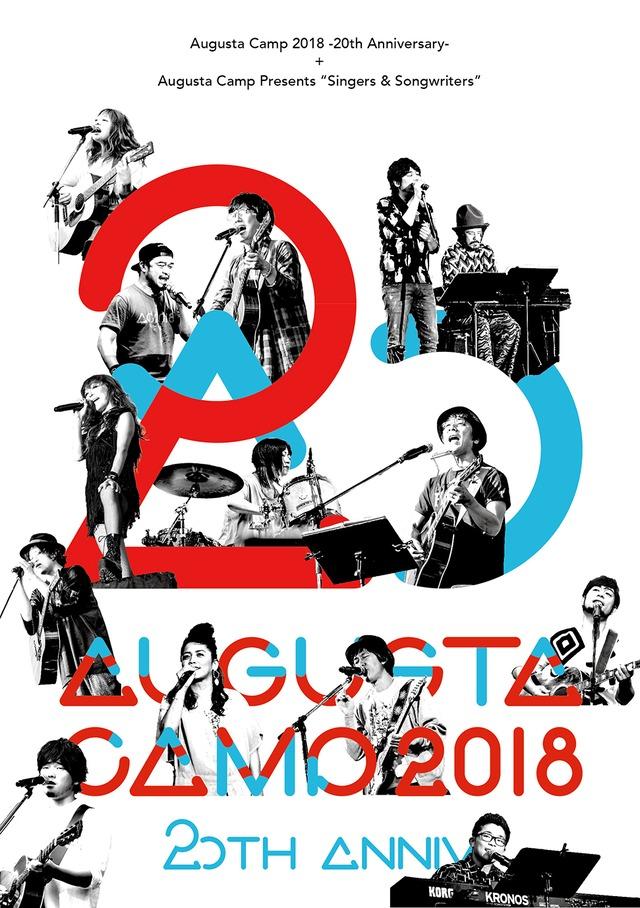 「Augusta Camp 2018 ‐20th Anniversary‐ Presented by The PREMIUM MALT'S」通常盤ジャケット