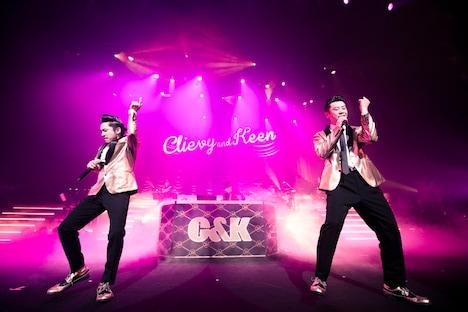 C&K(撮影:田中聖太郎)