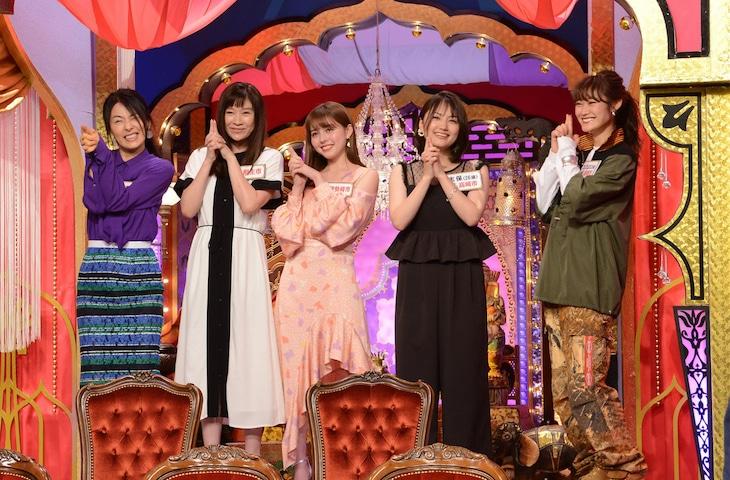 「今夜くらべてみました」スタジオトーク 場面カット (c)日本テレビ
