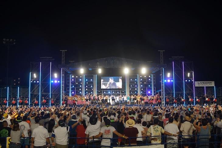 「沖縄からうた開き!うたの日コンサート2019 in 嘉手納」の様子。(撮影:武安弘毅)
