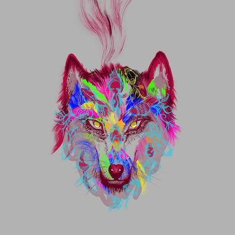 湯木慧「一匹狼」通常盤ジャケット