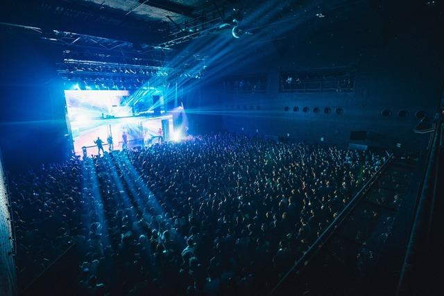 BAD HOP「COLD IN SUMMER ZEPP TOUR」Zepp DiverCity TOKYO公演の様子。