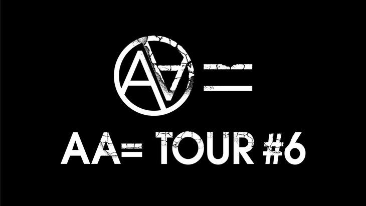 「AA= TOUR #6」ビジュアル