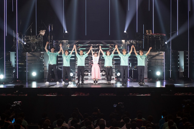 水瀬いのり「animelo mix presents Inori Minase LIVE TOUR 2019 Catch the Rainbow!」 の様子。(写真:加藤アラタ、堀内彩香)