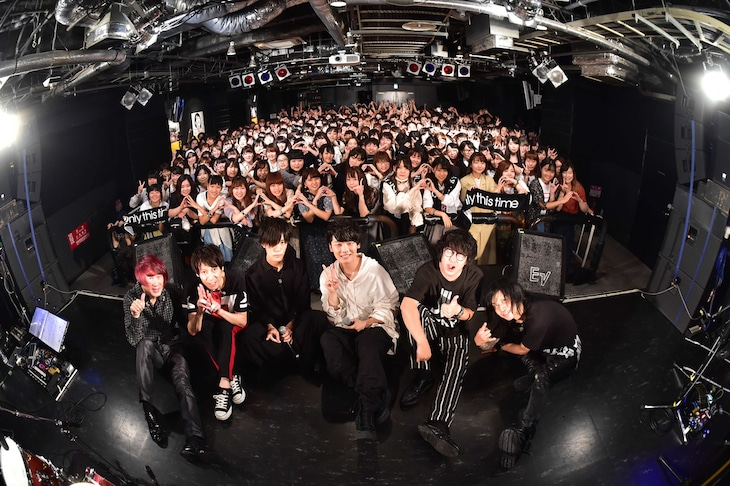 Only this time「『ANSWER』リリース記念イベント」東京・タワーレコード渋谷店B1F CUTUP STUDIO公演の様子。(Photo by MASA)