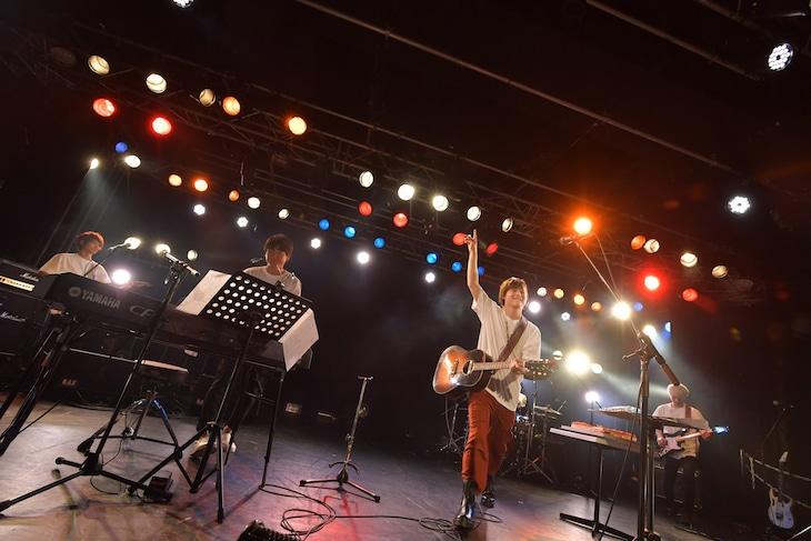 「YOSUKE KiSHi 26 y.o. BiRTHDAY LiVE カッコつけないtonight!!!」の様子。(撮影:藤森勇気)