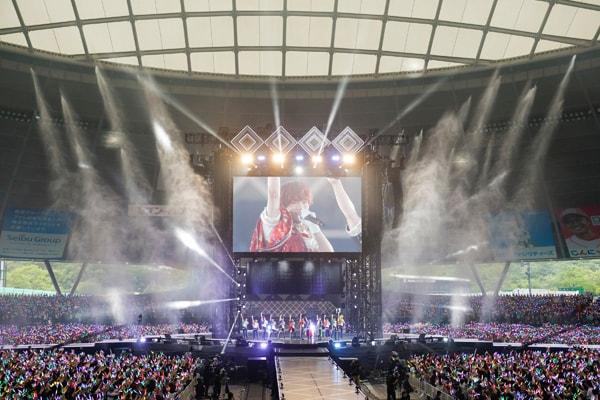 「アイドリッシュセブン 2nd LIVE『REUNION』」の様子。(撮影:BNOI / アイナナ製作委員会)