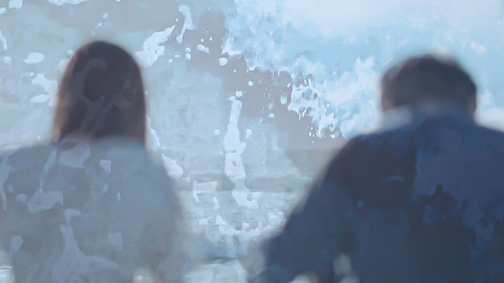 Mega Shinnosuke「本音」ミュージックビデオのワンシーン。