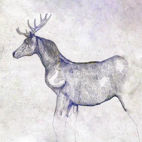 米津玄師「馬と鹿」ジャケット