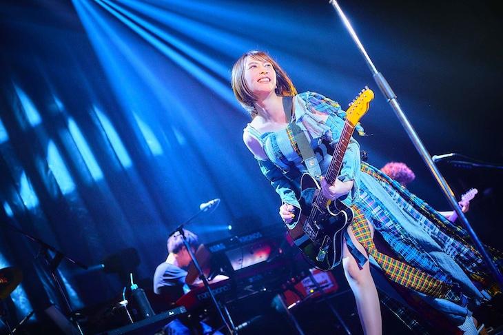 """藍井エイル「藍井エイル LIVE TOUR 2019 """"Fragment oF""""」最終公演の様子。"""