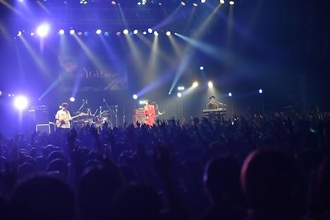"""「パスピエ TOUR 2019 """"more You more""""」東京・Zepp Tokyo公演の様子。(撮影:鈴木恵)"""