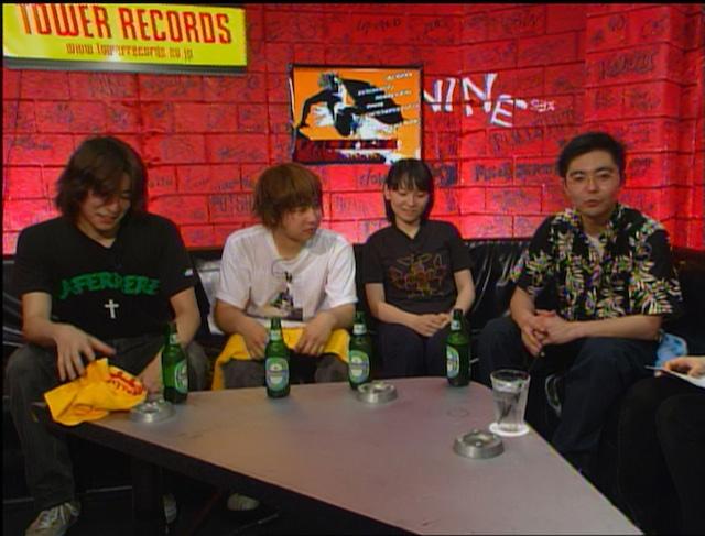2002年放送の「FACTORY#89」より。(写真提供:フジテレビ)