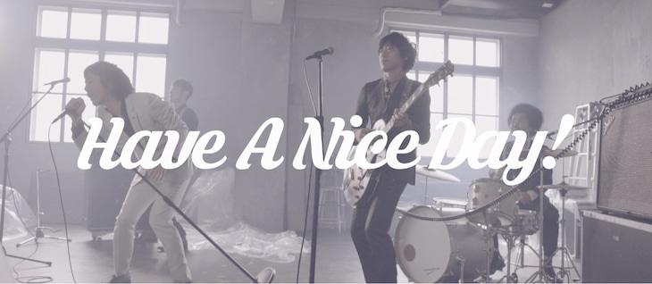 SCOOBIE DO「Have A Nice Day!」MVのワンシーン。