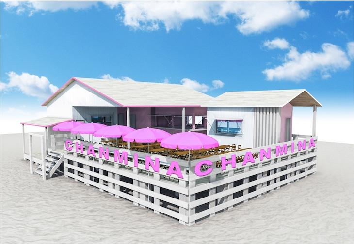 「ちゃんみな 海の家@由比ヶ浜」イメージ画像