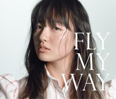 鈴木瑛美子「FLY MY WAY / Soul Full of Music」CD+DVD盤ジャケット