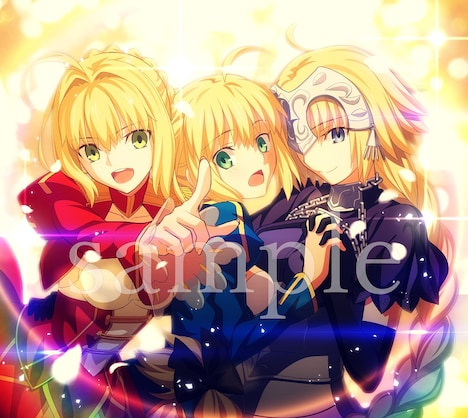 V.A.「Fate song material」ビジュアル
