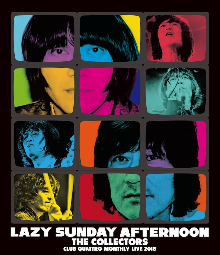 """THE COLLECTORS「CLUB QUATTRO MONTHLY LIVE 2018 """"LAZY SUNDAY AFTERNOON""""」ジャケット"""