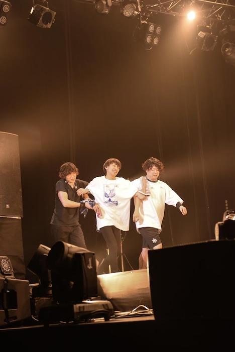 「ファンタスティックホームランツアー」神奈川・横浜アリーナ公演のワンシーン。