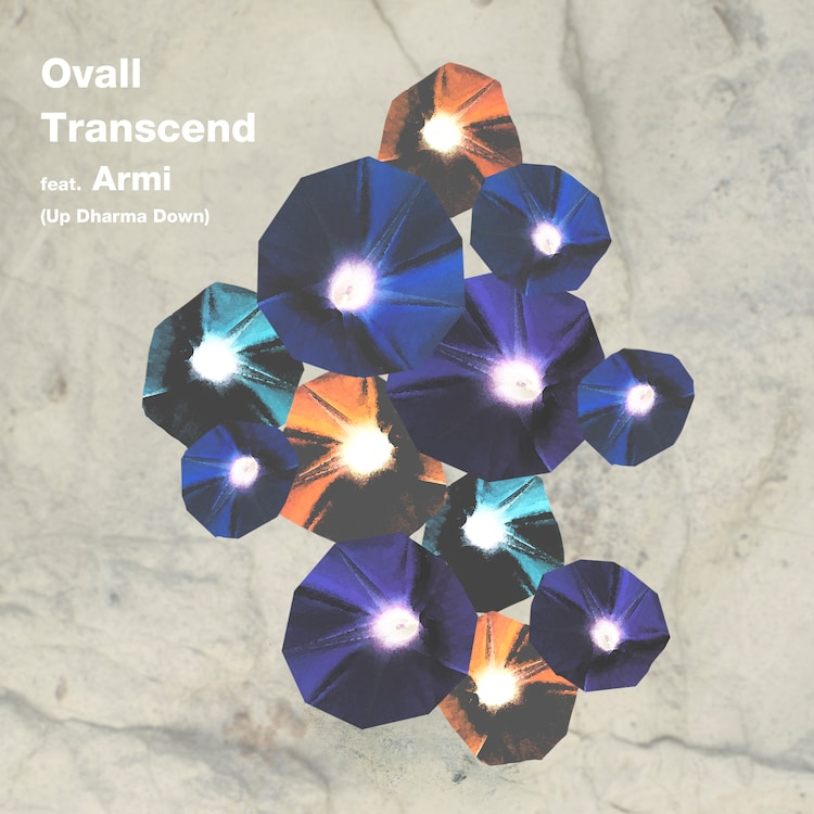 Ovall「Transcend feat. Armi(Up Dharma Down)」配信ジャケット