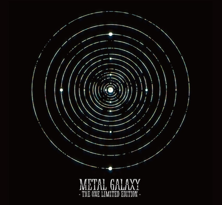 BABYMETAL「METAL GALAXY」THE ONE盤アナログサイズジャケット