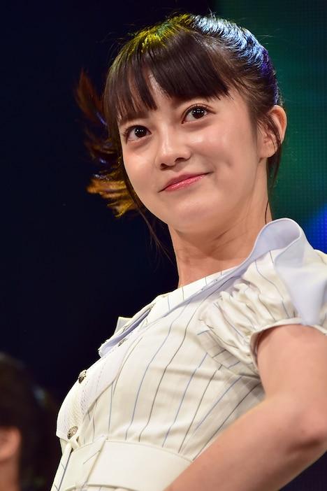 「TOKYO IDOL FESTIVAL 2019」出演時の田中皓子。