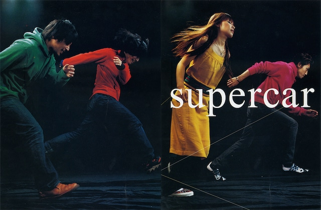 SUPERCAR(「ROCKIN'ON JAPAN」2001年12月号より 提供:中野敬久)