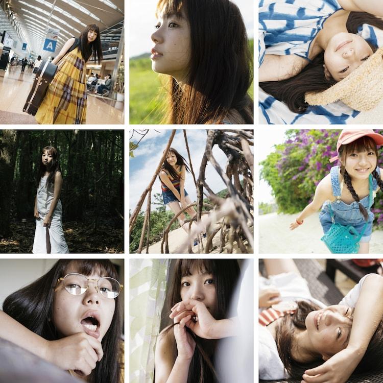 村田寛奈の3rd写真集の表紙。(撮影:石垣星児)