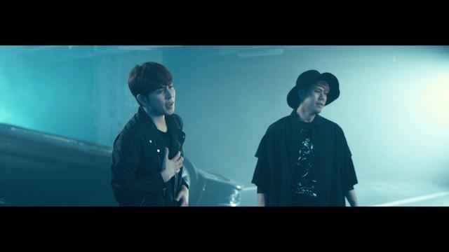 CHEMISTRY「Angel」MVのワンシーン。